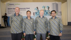 (from left) Haiko Zuidhof, Samson Li, Knut Nesse and Harris Priyadi