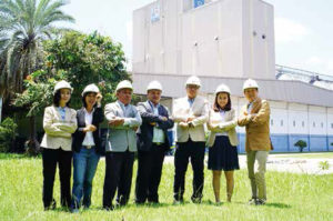 Kaona Feedmill management team