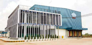 The latest sausage plant worth 380 million baht with 30 tonnes/day capacity